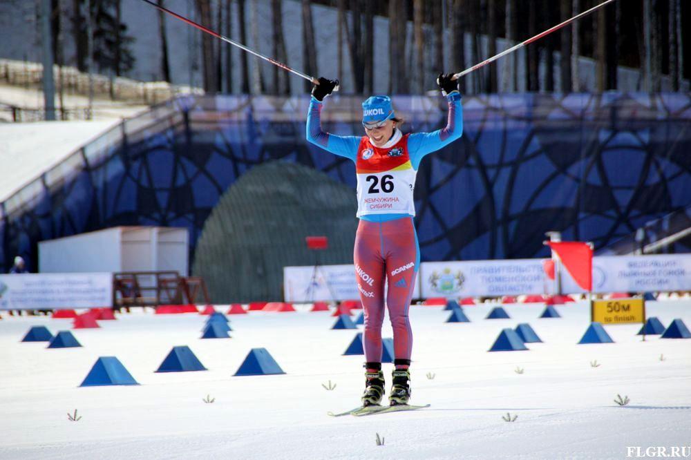 Поздравление лыжных гонок