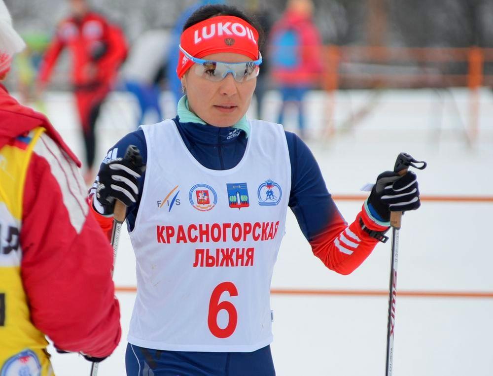 """с """"Красногорской лыжни""""."""