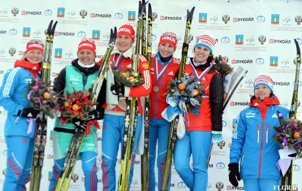 на Красногорской лыжне!